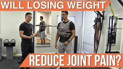 Will losing weight reduce hip, back, and knee pain?