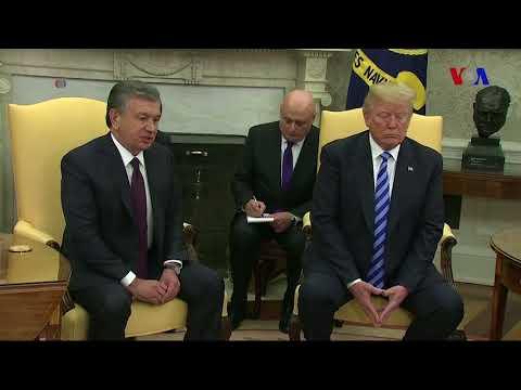 ABŞ və Özbəkistan strateji tərəfdaşlığı gücləndirir
