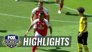 Borussia Dortmund vs. FSV Mainz 05 | 2017-18 Bundesliga Highlights
