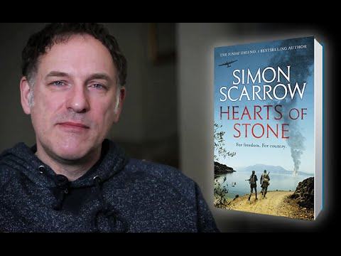 Simon Scarrow Introduces The Characters From Hearts Of Stone Youtube