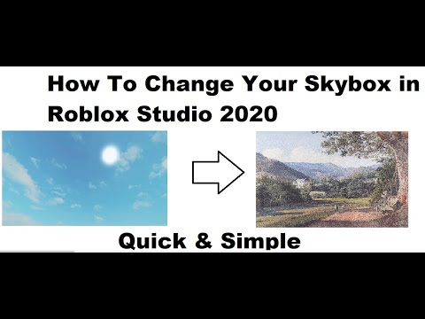 How To Change The Skybox In Roblox Studio 2020 Subtitles Youtube