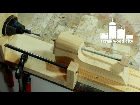 Turn Your Rotary Tool Into a Tiny Lathe