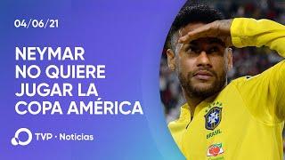 Jugadores de Brasil se niegan a jugar la Copa América