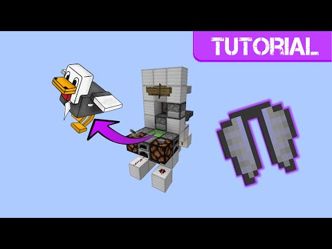 Minecraft 1.9 - Elytra Launcher Tutorial