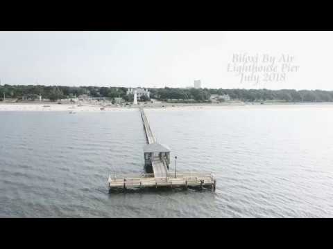 Biloxi Lighthouse Pier Youtube