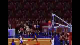 NBA Jam - backboard breaking BOOM SHAKA LAKA!!!