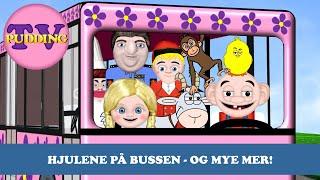 Hjulene på bussen - og mye mer! Norske barnesanger MIX
