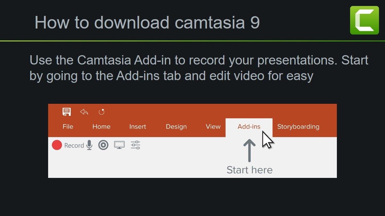 camtasia 9 for windows 10