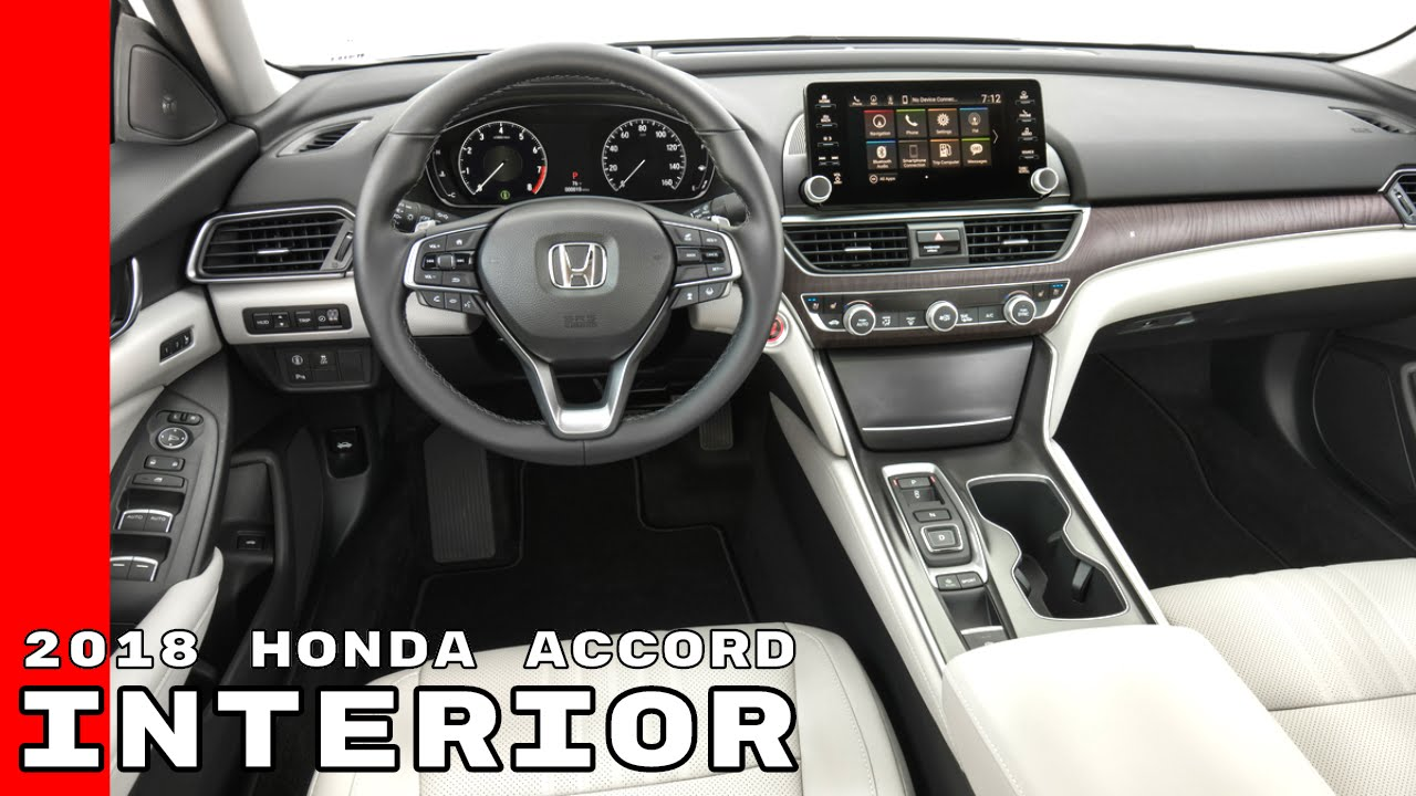 2018 Honda Accord Interior