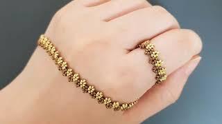 Set jewelry. Diy beads. Stitch. 시드비즈 세트 쥬얼리.