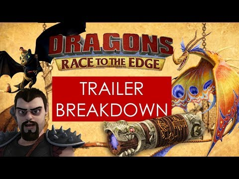 TRAILER BREAKDOWN Race to the Edge S5 [How To Train Your Dragon]