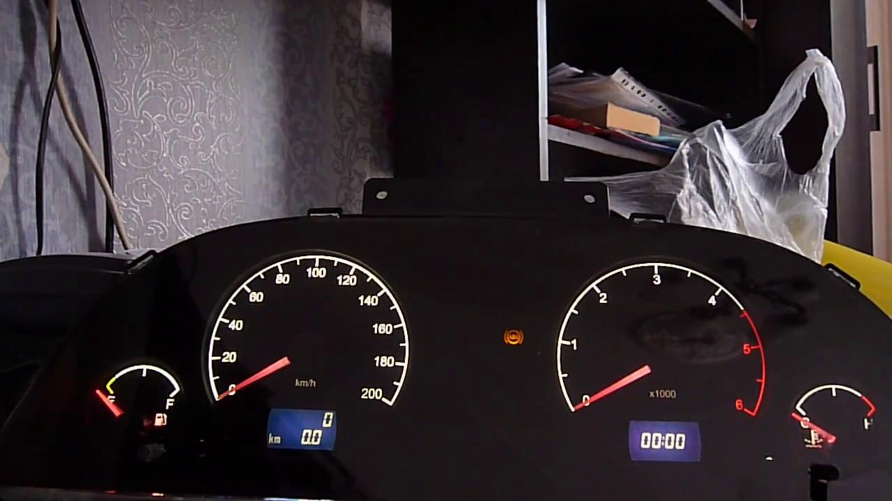 Комбинация приборов ГАЗ 31105 Тюнинг