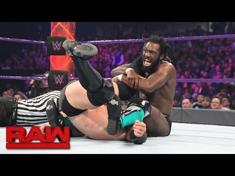 Rich Swann vs. Neville - WWE Cruiserweight Championship Match: Raw, March 6, 2017