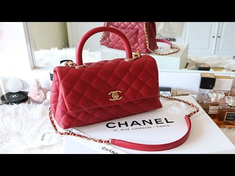 654e0b6df1c6d8 CHANEL COCO HANDLE MINI || UNBOXING and WHAT FITS INSIDE - YouTube