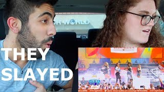 FIFTH HARMONY DOWN FT. GUCCI MANE LIVE ON GMA (REACTION)