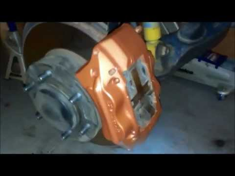 Painting Truck Or Car Calipers, Everything You Need To Know.