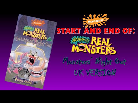 Start and End of Aaahh!!! Real Monsters: Monsters' Night Out (UK version)