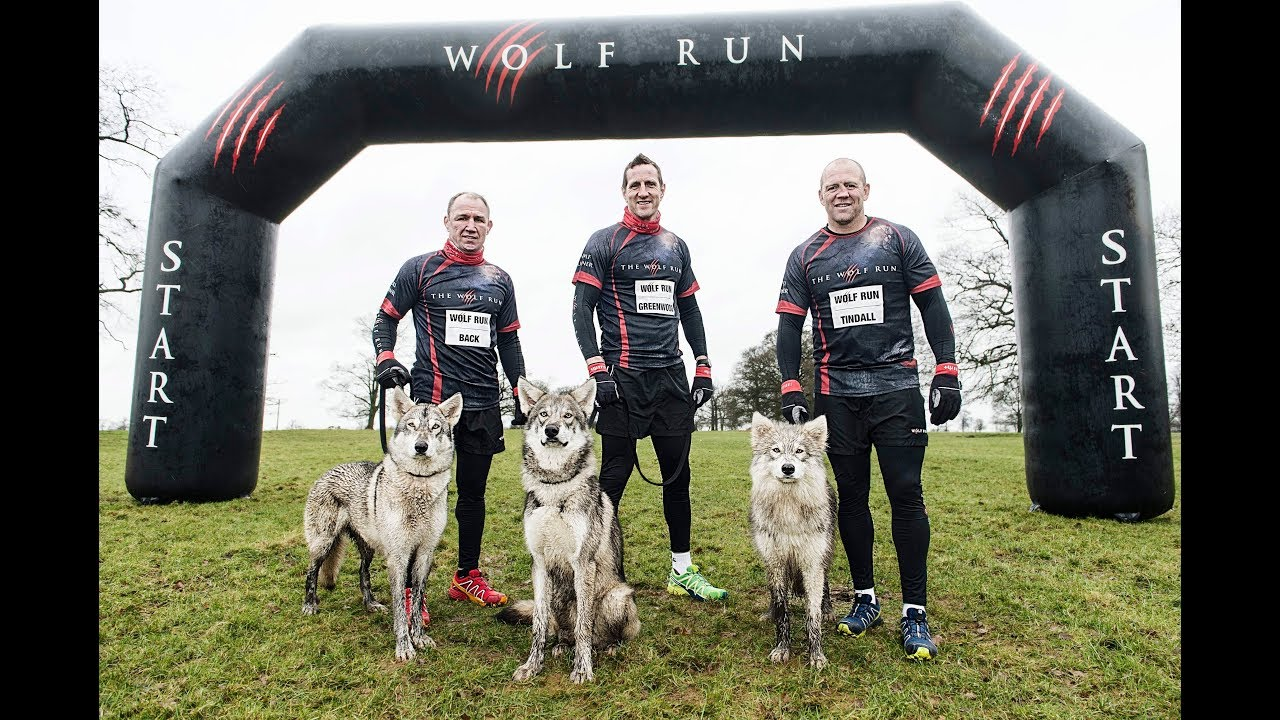 England Rugby legends Mike Tindall, Will Greenwood and Neil Back tackle The Wolf Run