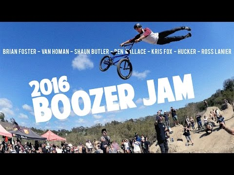 Boozer BMX Dirt Jam with Brain Foster, Kris Fox, Van Homan, and More