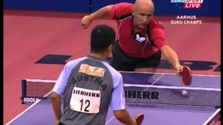 Table Tennis - Attack (BENTSEN) Vs Defense (CHEN WEIXING) XXI !