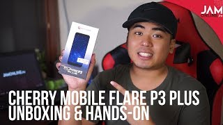 Cherry Mobile Flare P3 Plus Unboxing and Hands-On