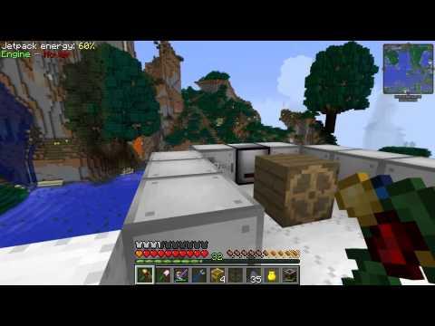 Etho's Modded Minecraft #34: Flying Machine 2.0