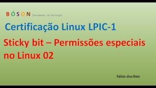 Sticky bit - Permissões especiais no Linux - 02