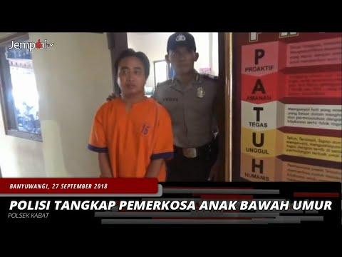 POLISI TANGKAP PEMERKOSA ANAK BAWAH UMUR