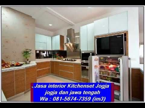 Wa 081 5674 7359 Im3 Jasa Kitchenset Jogja Interior Harga Kitchen Set Hpl Per Meter Al