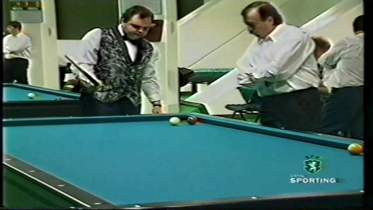 Bilhar :: Sporting termina invicto competição internacional disputada em Alvalade em 29/04/1999