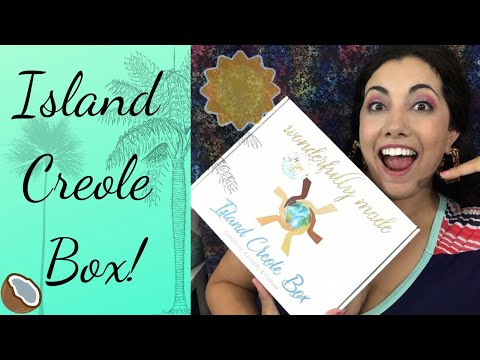 UNBOXING Island Creole Subscripton Box!! September 2019