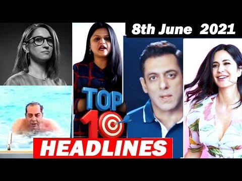 Top 10 Big News of Bollywood |8th June2021 |Salman Khan, Dilip Kumar, Katrina Kaif