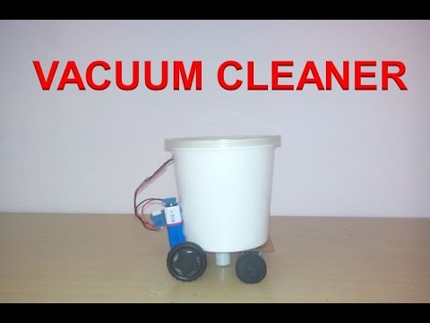 How to Make a Vacuum Cleaner at Home