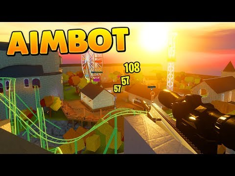 Catching An Aimbot Hacker In Arsenal...(Roblox)
