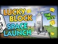 [BRAND NEW] LUCKY BLOCK SPACE LAUNCH? - THE BEST MINECRAFT LUCKY BLOCK MINIGAME (Lucky Block Space)