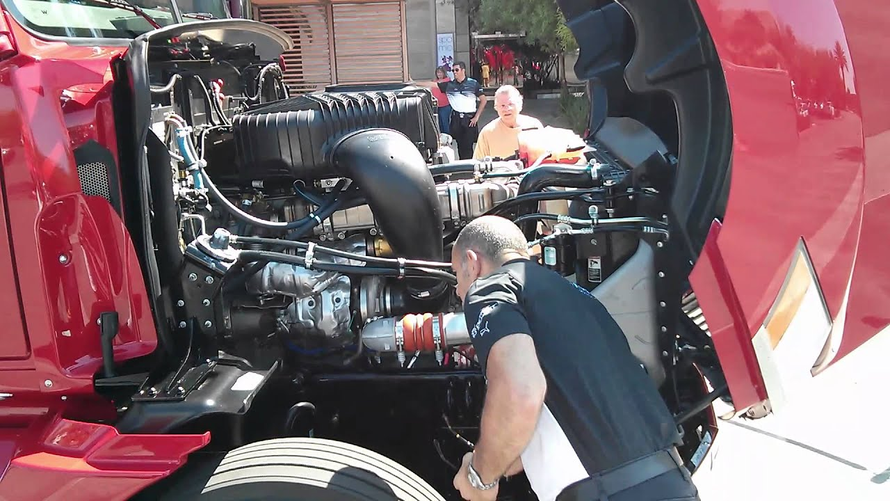 cummins engine fuel system diagram western star 5700xe a look under the hood youtube  western star 5700xe a look under the hood youtube
