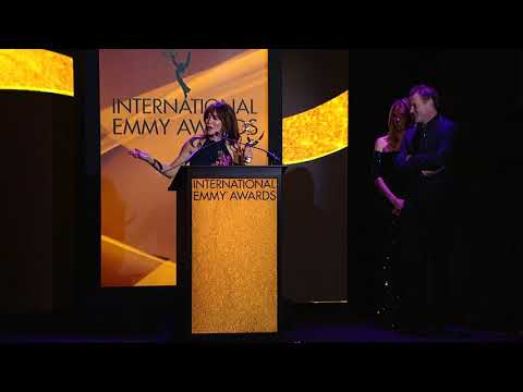 2017 International Emmy Best Performance by an Actress Winner, Anna Friel in Marcella (UK)