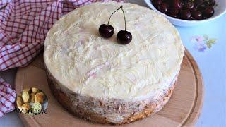 Вишнёвое НАСЛАЖДЕНИЕ Пирог торт за несколько минут Cherry Cake