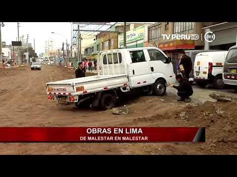 Obras en Lima: de malestar en malestar [INFORME ESPECIAL]