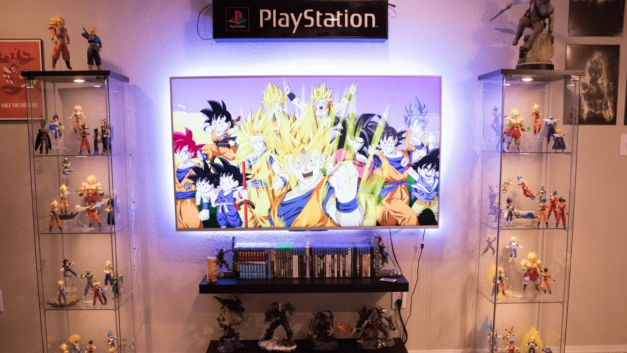 Ultimate Dragon Ball Z Game Room Tour Part 1 Youtube