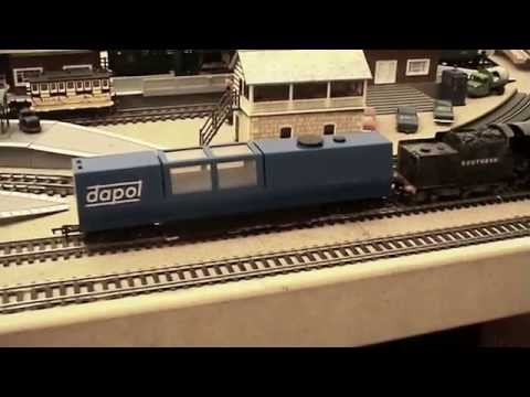 Track Cleaning/Hoover Wagon Explained. Hornby Triang Dapol.