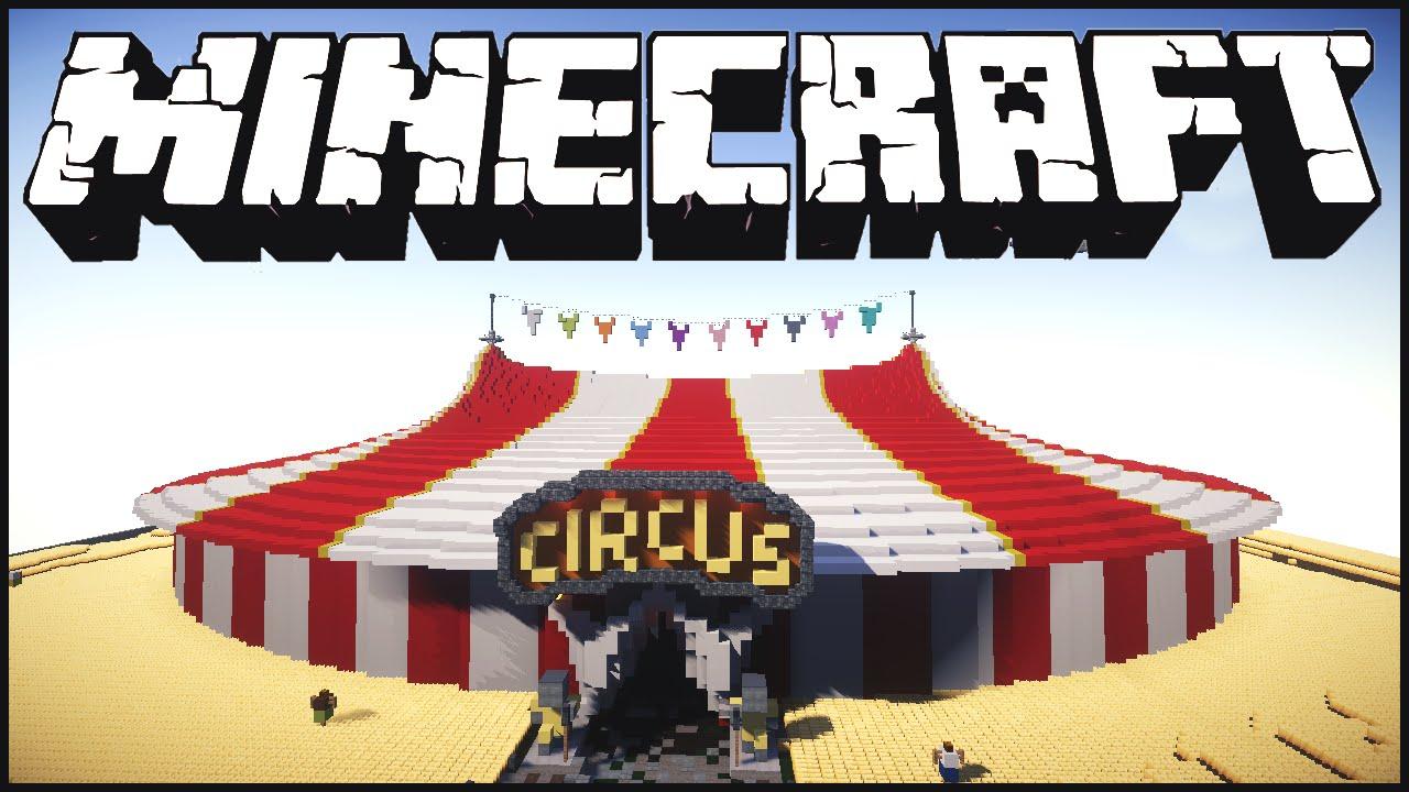 цирк карта для майнкрафт 1.7.2 #8