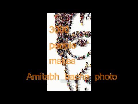 3000 people make amitabh bachchan youtube