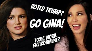 Gina Carano TELLS ALL in Ben Shapiro Interview