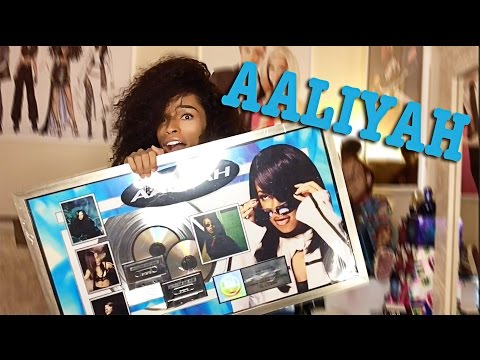 UNBOXING MY RIAA AALIYAH ONE IN A MILLION PLATINUM PLAQUE
