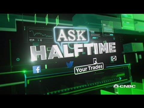 What do the traders think of DXC? The viewers #AskHalftime