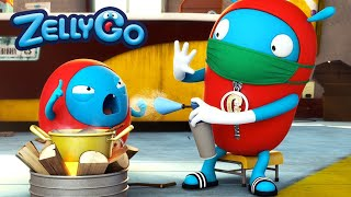 ZellyGo | Cold | Kids TV Shows | Cartoons for Kids | WildBrain Cartoons