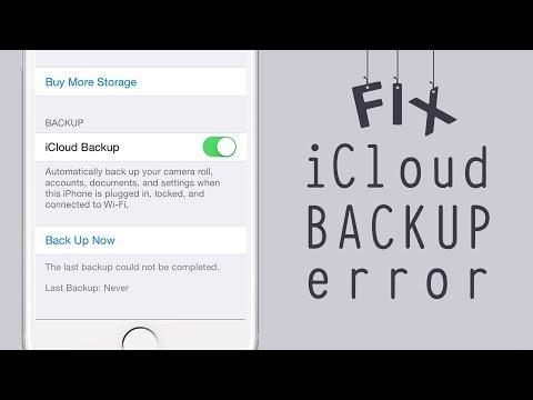 Ios icloud backup