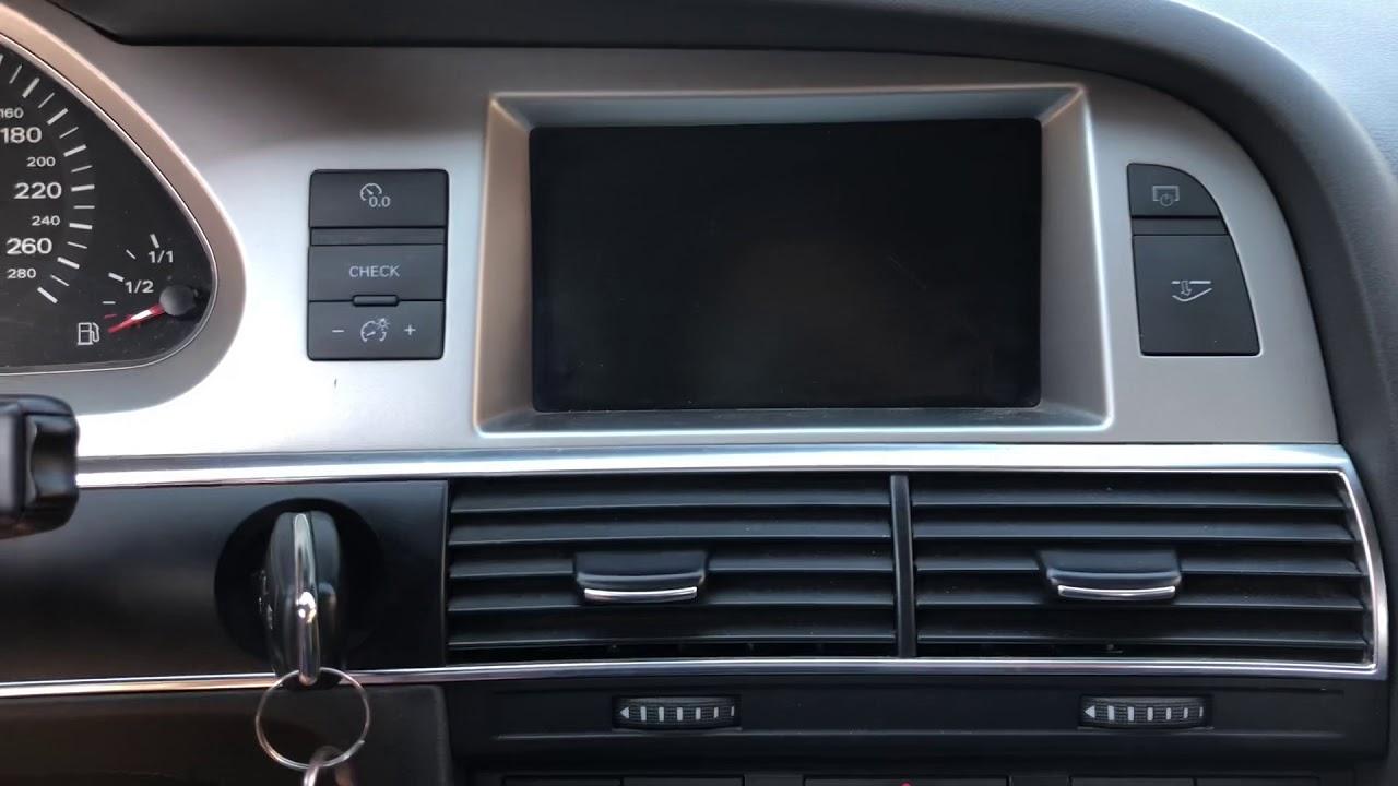 Audi A6 4f C6 Mmi Navi Not Working Bluetooth Module Death Optic