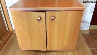 Встроенный шкаф-купе и маленькая прихожая(Мебельная мастерская Глеба Величко. Шкафы-купе любой сложности на заказ. Гарантия 5 лет и пожизненный серви..., 2016-04-23T13:06:17.000Z)